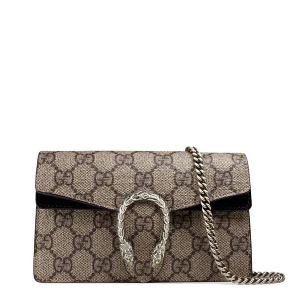 9b7e8d18fd11 Gucci Bags | Dionysus Gg Supreme Mini Chain Shoulder Bag | Poshmark
